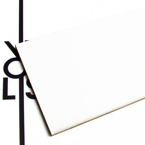 Cartone bianco - campione
