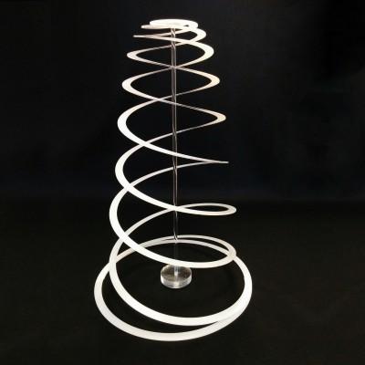 Albero di Natale Twisted Christmas - spirale in plexi opalino