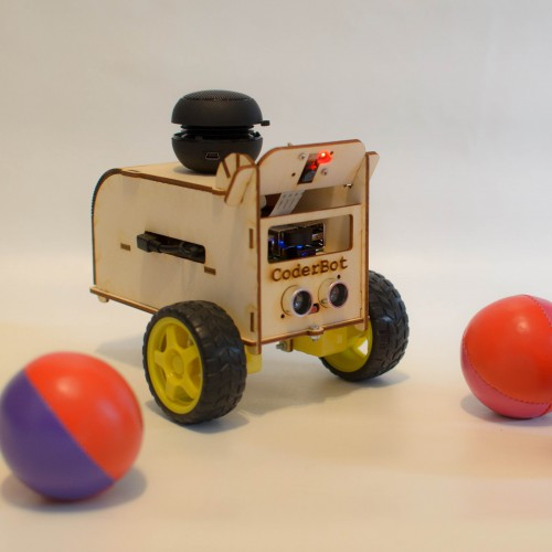 CoderBot - robot didattico in kit