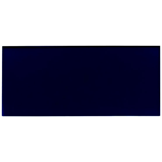 Transparent night blue plexiglass