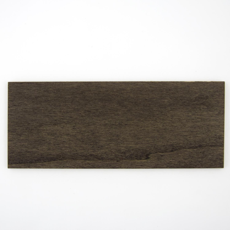 Black painted poplar plywood - sample
