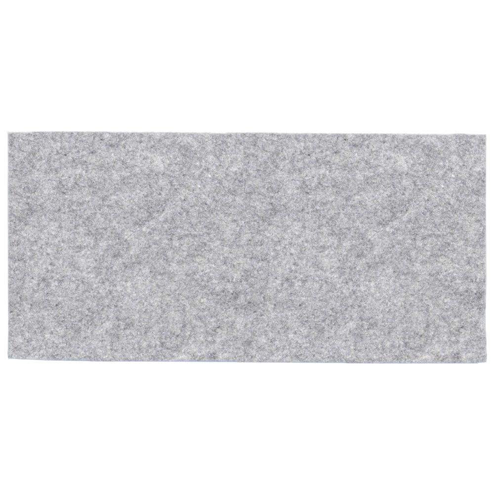 Melange gray felt - sample