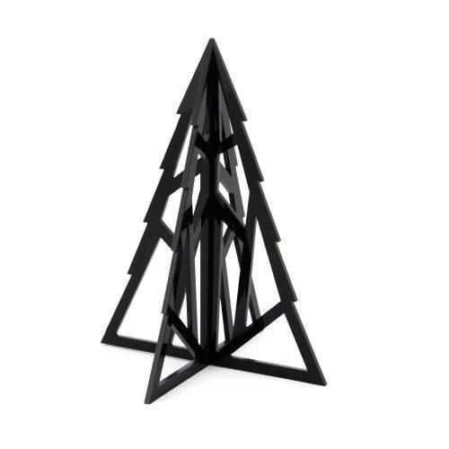 albero di natale geometrico in plexiglas