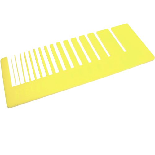Precision test - lemon yellow plexiglass for laser cutting