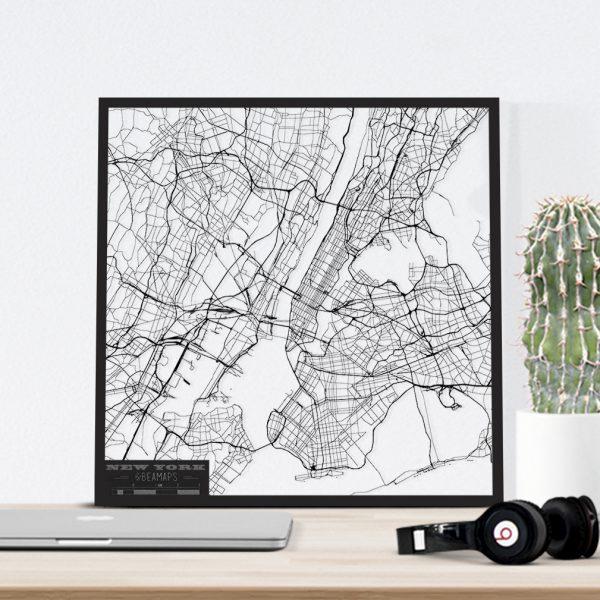 Beamaps | lasercut wall art - city maps