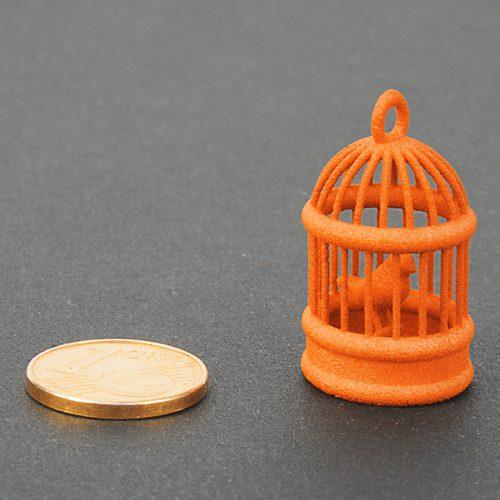 Plastica colorata arancione - per stampa 3D SLS