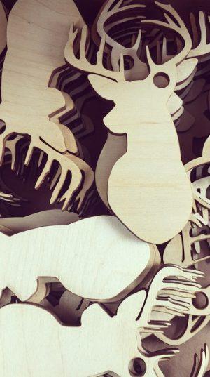 Gadget in legno - Vectorealism