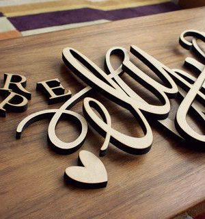 Lettering Machine - creates lettering cake topper insignia