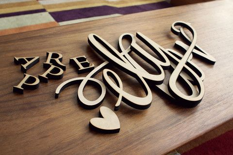Lettering Machine - crea scritte cake topper insegne