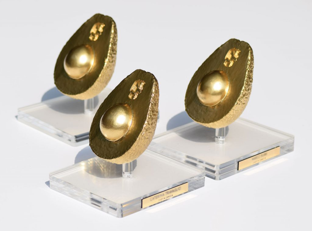 Premio Avocado d'oro - stampa 3D