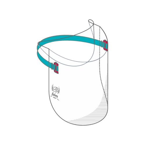 popup visiera shield
